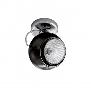 110574 Светильник OCCHIO FABI NERO HP16 ХРОМ/ЧЕРНЫЙ МАТОВЫЙ (в комплекте)