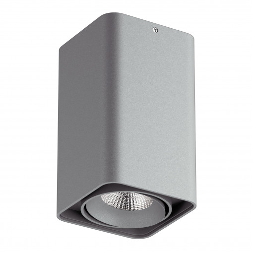 052339-IP65 Светильник MONOCCO LED10W 600LM 30G СЕРЫЙ 3000K (в комплекте)