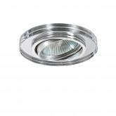 002514 Светильник RIFLE CYL CR MR16/HP16 ПОВОРОТ ХРОМ/ЗЕРКАЛЬНЫЙ (в комплекте)