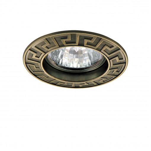 011111 Светильник ANTICO FIX MR16 ЗЕЛЕНАЯ БРОНЗА (в комплекте)