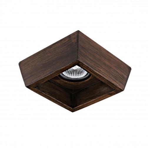 041029 Светильник EXTRA QUA ROVERE MR16/HP16 ТЕМНЫЙ ОРЕХ (в комплекте)