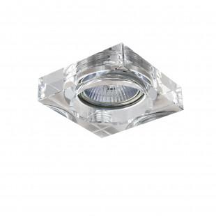 006140 Светильник LUI MINI CR MR16/HP16 ХРОМ/ПРОЗРАЧНЫЙ (в комплекте)