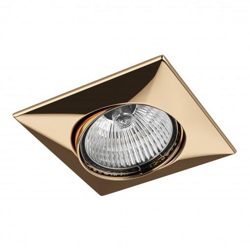 011032*** Светильник LEGA QUA ADJ MR16/HP16 ЗОЛОТО (в комплекте)