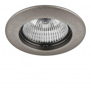 011075 Светильник TESO FIX MR16/HP16 НИКЕЛЬ (в комплекте)