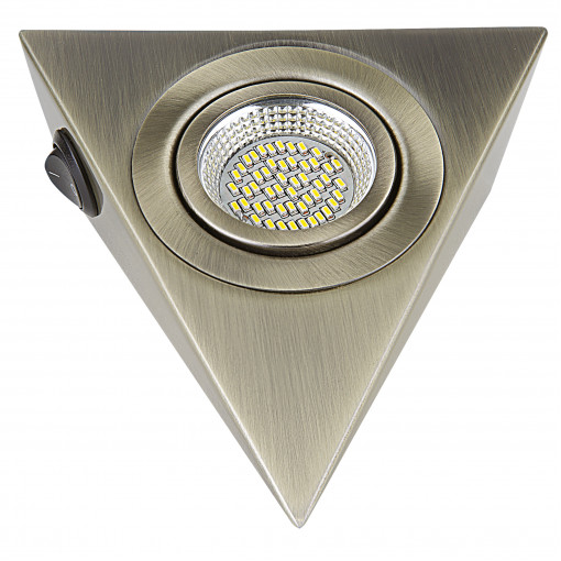 003141 Светильник MOBILED ANGO LED 3.5W 270LM 90G БРОНЗА ЗЕЛЕНАЯ 3000K (в комплекте)