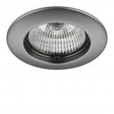 011079 Светильник TESO FIX MR16/HP16 ХРОМ МАТОВЫЙ (в комплекте)
