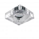 006120 Светильник LUI CR MR16/HP16 ХРОМ/ПРОЗРАЧНЫЙ (в комплекте)