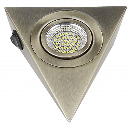003341 Светильник MOBILED ANGO LED 3.5W 270LM 90G БРОНЗА ЗЕЛЕНАЯ 4000K (в комплекте)