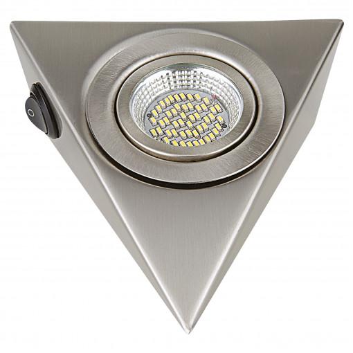 003145 Светильник MOBILED ANGO LED 3.5W 270LM 90G НИКЕЛЬ 3000K (в комплекте)