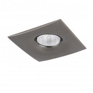 010038 Светильник LEVIGO Q MR16/HP16 ЧЕРНЫЙ ХРОМ (в комплекте)