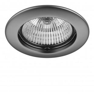 011019 Светильник LEGA HI FIX MR16/HP16 ХРОМ МАТОВЫЙ (в комплекте)
