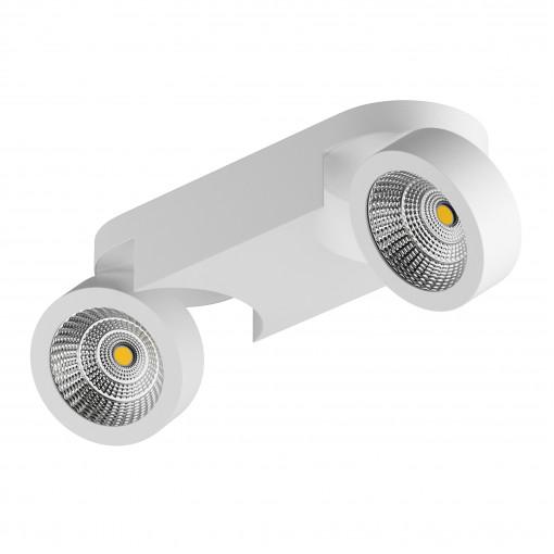 055263 Светильник SNODO LED 2*10W 1960LM 23G БЕЛЫЙ 3000K IP20 (в комплекте)