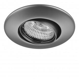 011059 Светильник LEGA 11 ADJ MR11/HP11 ХРОМ МАТОВЫЙ (в комплекте)