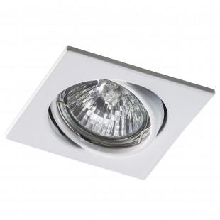 011940 Светильник LEGA16 QUA MR16/HP16 БЕЛЫЙ (в комплекте)