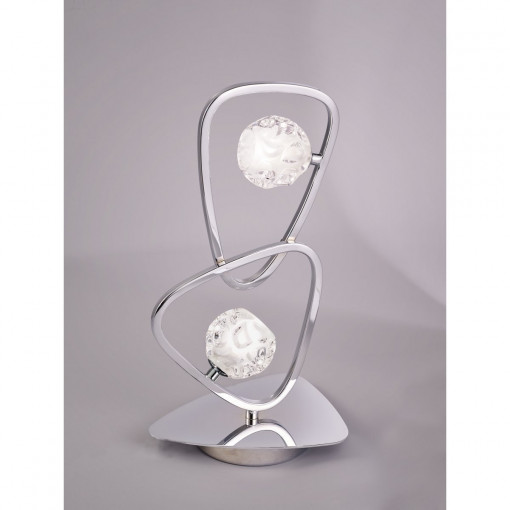 Настольная лампа LUX CHROME MN_5018