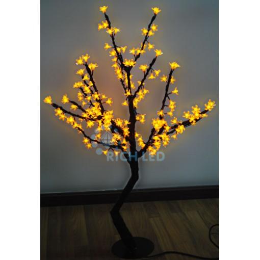 Светодиодное дерево Сакура 110, 24В, ЖЕЛТОЕ