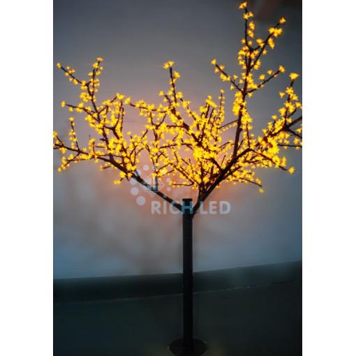 Светодиодное дерево Сакура 250, 24В, ЖЕЛТОЕ
