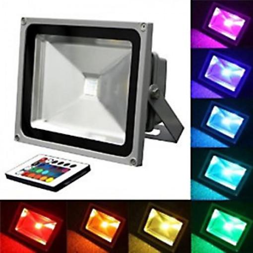 Прожектор 50 Вт, RGB
