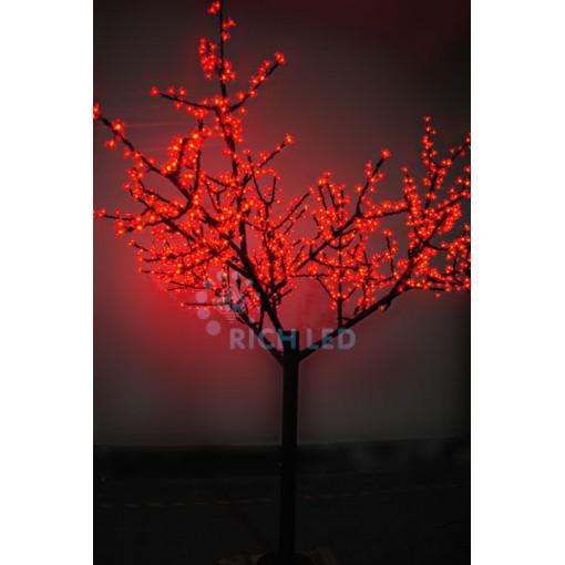 Светодиодное дерево Сакура 250, 220В, КРАСНОЕ