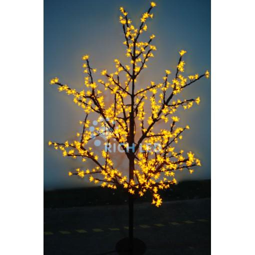 Светодиодное дерево Сакура 180, 220В, ЖЕЛТОЕ