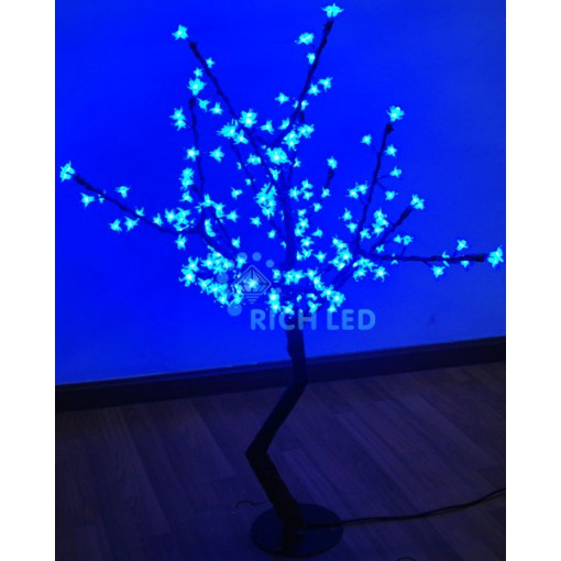 Светодиодное дерево Сакура 110, 24В, СИНЕЕ