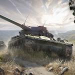 Фотообои тематические  World of Tanks AMX_13_90
