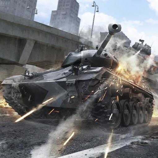 Фотообои тематические  World of Tanks Бой