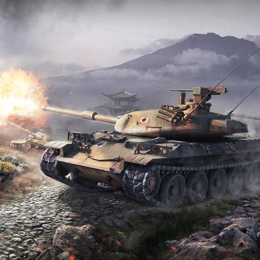 Фотообои тематические  World of Tanks STB-1