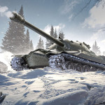 Фотообои тематические  World of Tanks IS-7