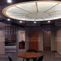натяжной потолок фонарь с фотопечатью