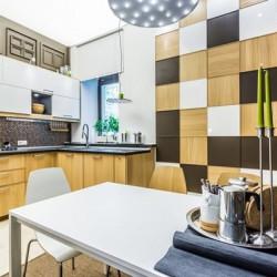 Кухня с ароматом кофе