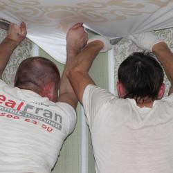 Натяжные потолки – кто их делает и как научиться их делать