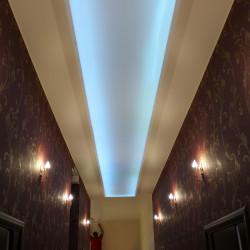Дом в Солнечногорске установка светодиодного потолка
