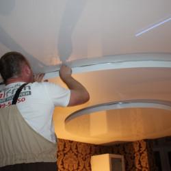 Менделеево многоуровневые потолки с подсветкой